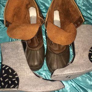 ✅B.New sorrel boots